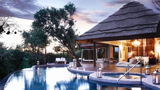 Hôtel de luxe en Afrique
