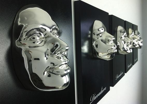 des masques pour célébrer la beauté des visages africains