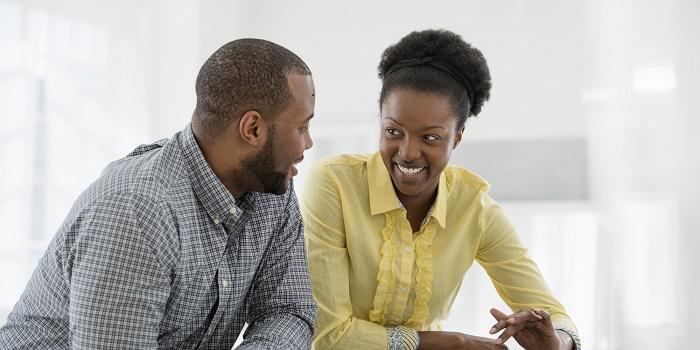 Sujet de discussion de couple