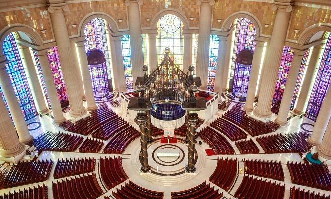 Côte d'Ivoire : La Basilique de Notre Dame de la Paix